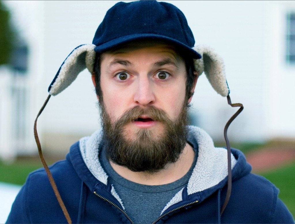 Justin Hoch comedic headshot